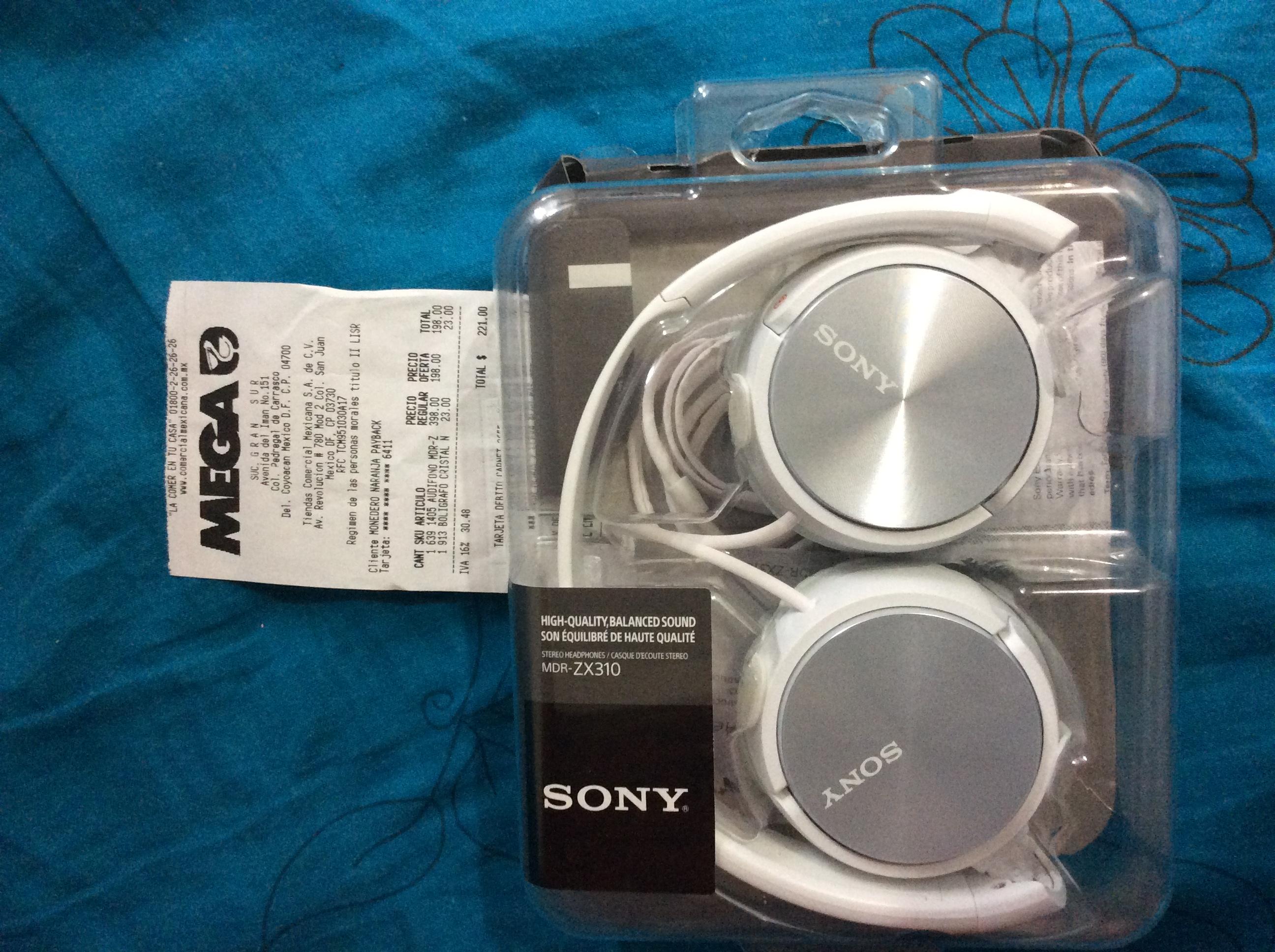 La Comer: Audífono Sony rebajado a $198 (DF)