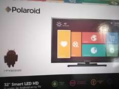 "Walmart: TV Polaroid Smart tv 32"" a $3,999"