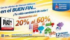 Ofertas del Buen Fin en Sherwin Williams