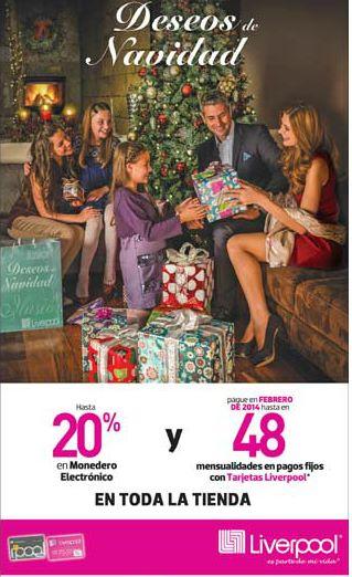 Deseos de Navidad de Liverpool del 1 al 30 de noviembre