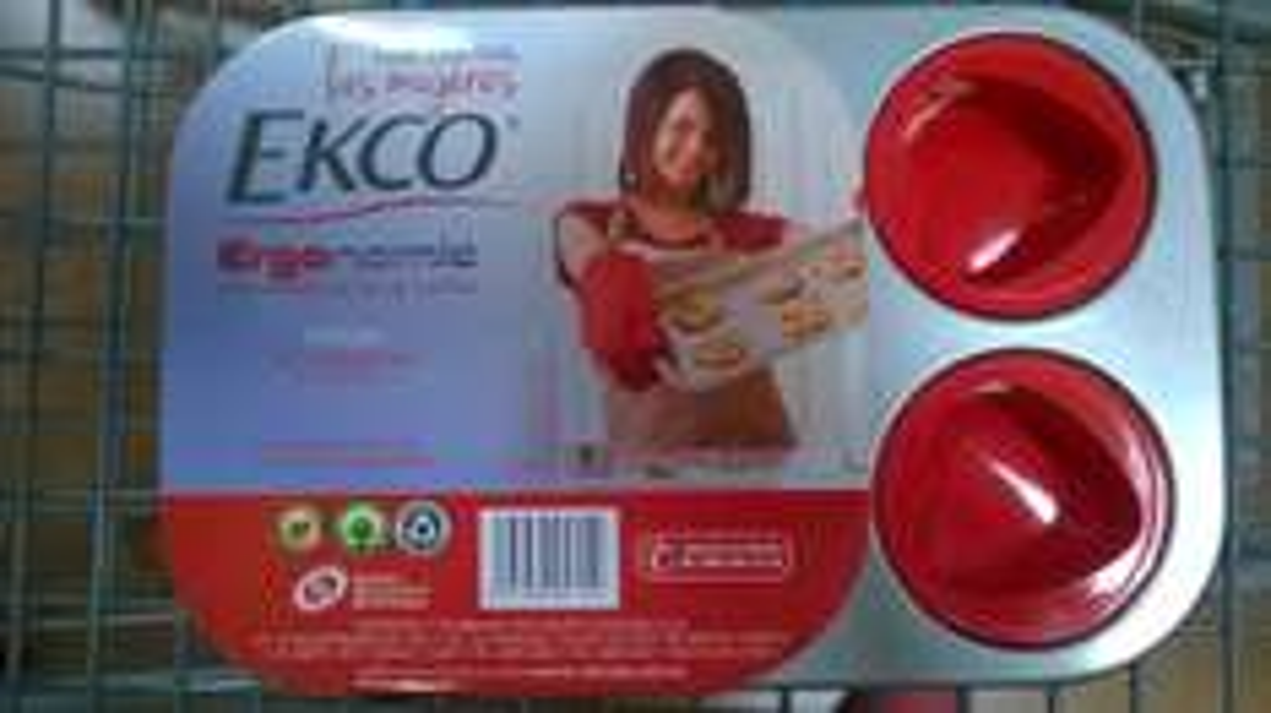 Walmart (Monterrey): moldes silicon EKCO forma corazon $29 y batidora Oster con pedestal a $1,049.01