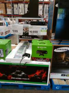 Sam's Club: Xbox one con Gears of War a $6,699 y 12 MSI
