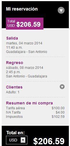Volaris: nuevas rutas San Antonio y Chicago desde 99 dólares y en México desde $699