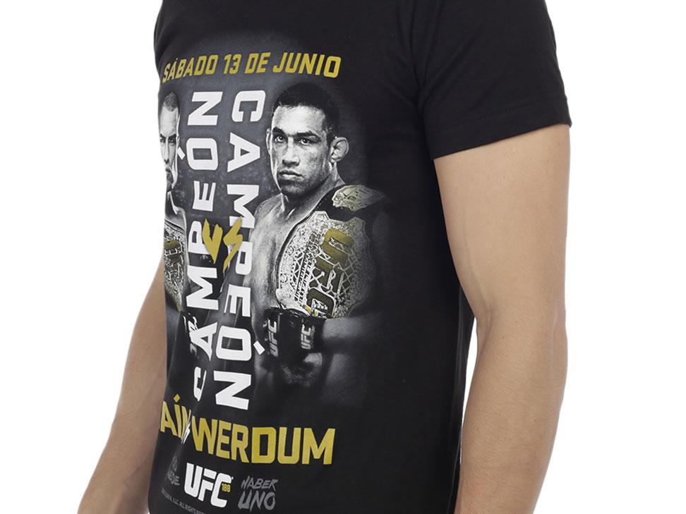 Liverpool: Playera UFC $34.00 (Todas las tallas disponibles + envio gratis)