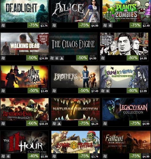 Rebajas de Halloween en Steam: hasta 75% de descuento en juegos de PC