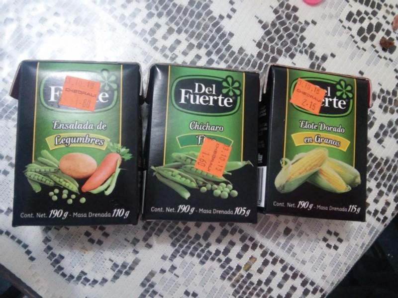 Chedraui: Verduras Del Fuerte de cuadrito de 190g desde $1.60