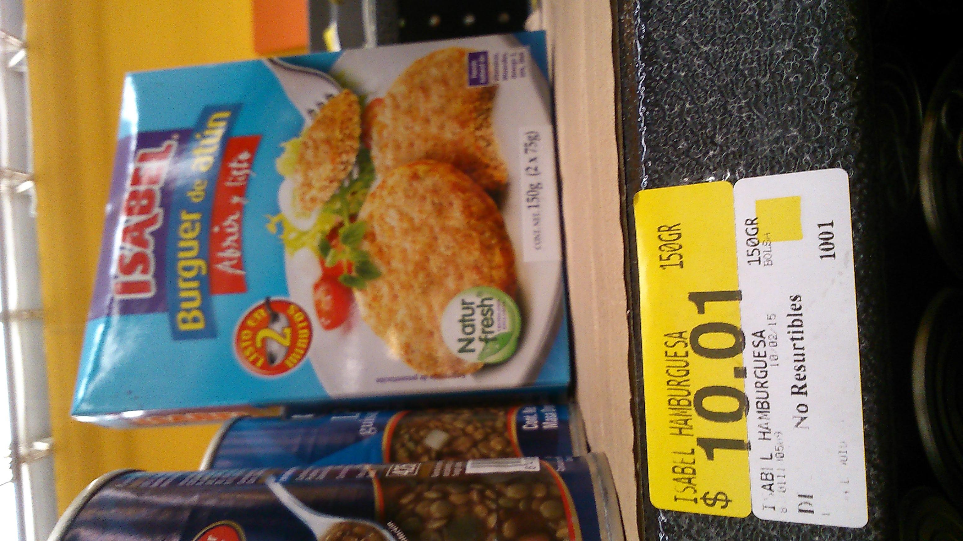 Walmart: Hamburguesas de atún $10.01 y más...