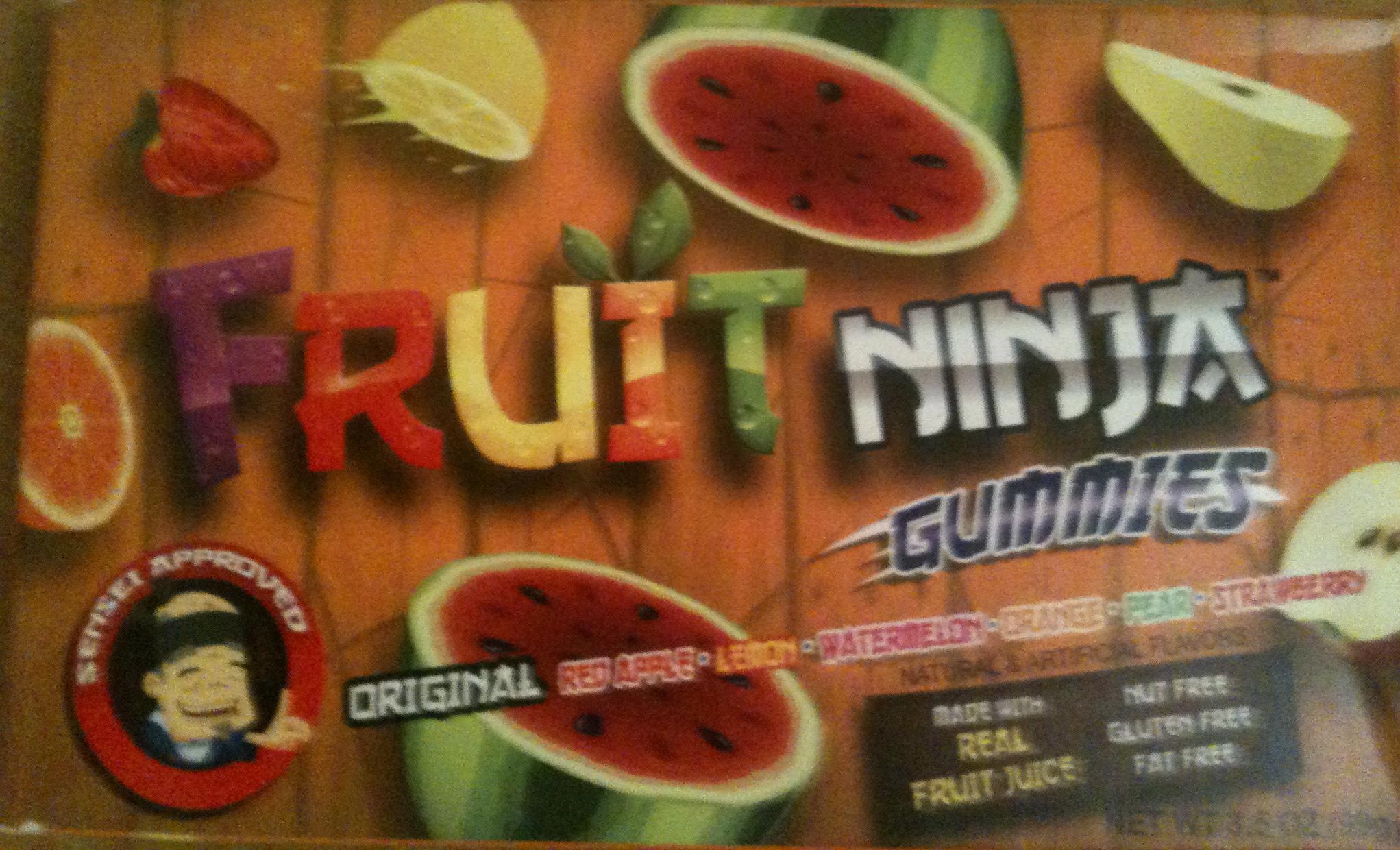 Walmart: gomitas Fruit Ninja a $2.02