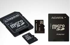 Groupon: $249 por 2 memorias Kingston micro SD de 8 GB o memoria Adata micro SD de 32 GB