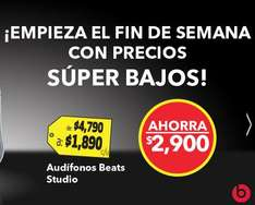 Best Buy: audífonos Beats $1,890 y descuentos en PS3