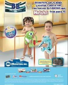 Huggies y Suavelastic Max: alacancías de Monsters Inc con puntos + $79