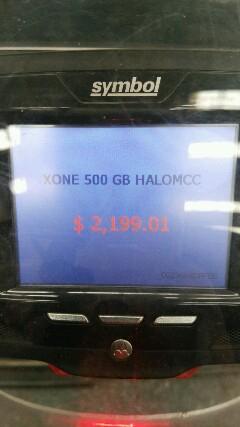 Wamart: Xbox one Halo master chief Blanca $2,199.01 (sólo DF)