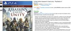 Amazon: Limited edition Assassin's Creed Unity $253