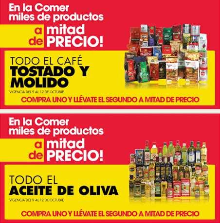 La Comer: 2x1 y medio en cosméticos, café, aceites de oliva y más