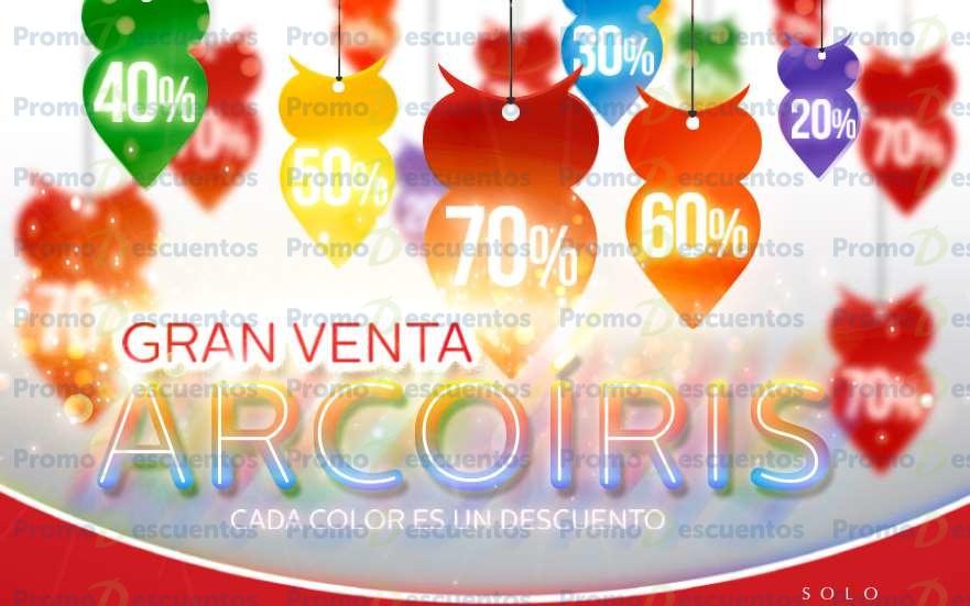 Venta arcoiris Sanborns 2015 del 9 al 19 de octubre