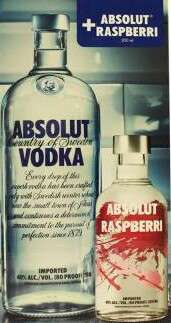 Superama: Pomopromo para el fin de semana Vodka Absolut 750 ml + Absolut Raspberri de 200 ml