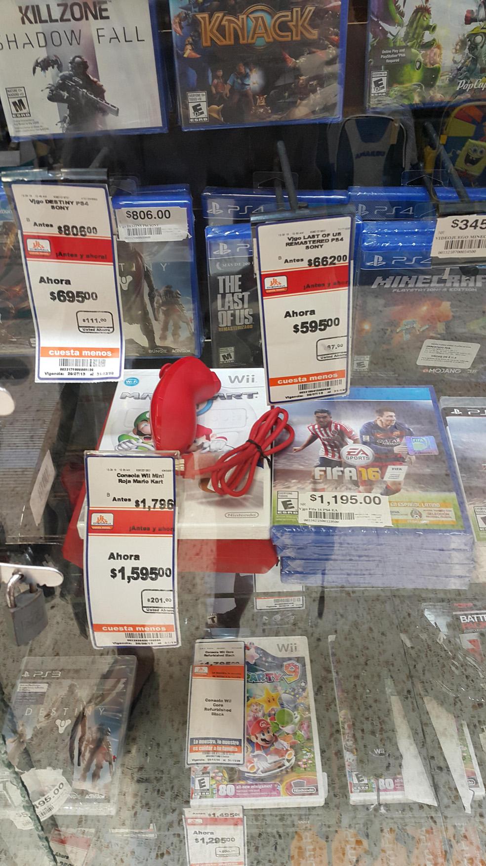 Chedraui: Last of Us para PS4 a $595