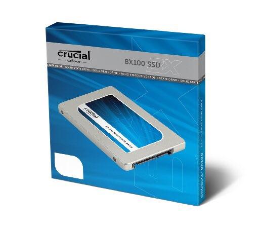 Amazon: SSD Crucial BX100 250GB