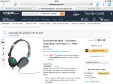 Amazon.mx audífonos Skullcandy Navigator