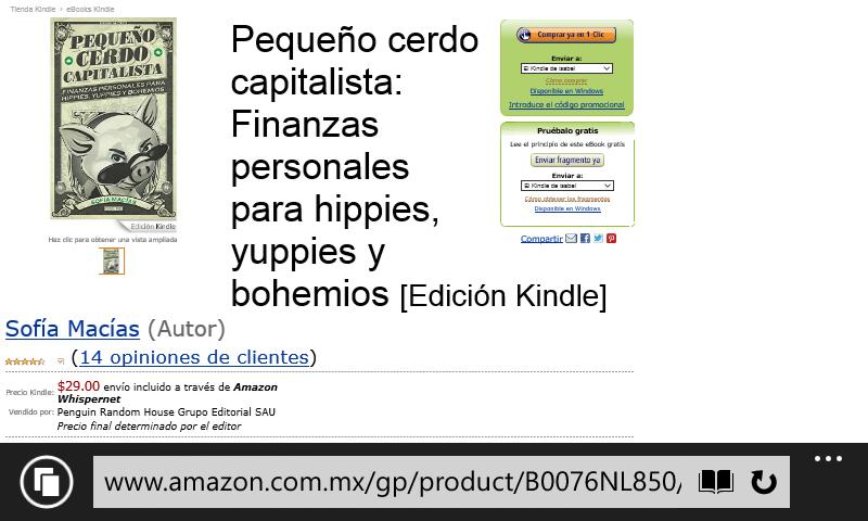 Amazon: libro electronico para kindle Pequeño Cerdo Capitalista