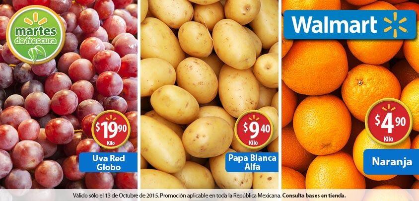 Martes de frescura en Walmart octubre 13: Naranja a $4.90 el kilo y más