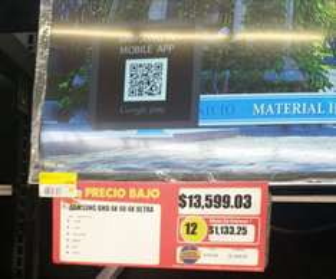 Walmart: TV SAMSUNG 48 4K $13599.03, set ensalada $90, set de oficina $100