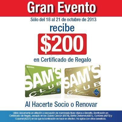 Sam's Club: $200 de bonificación al afiliarte o renovar membresía