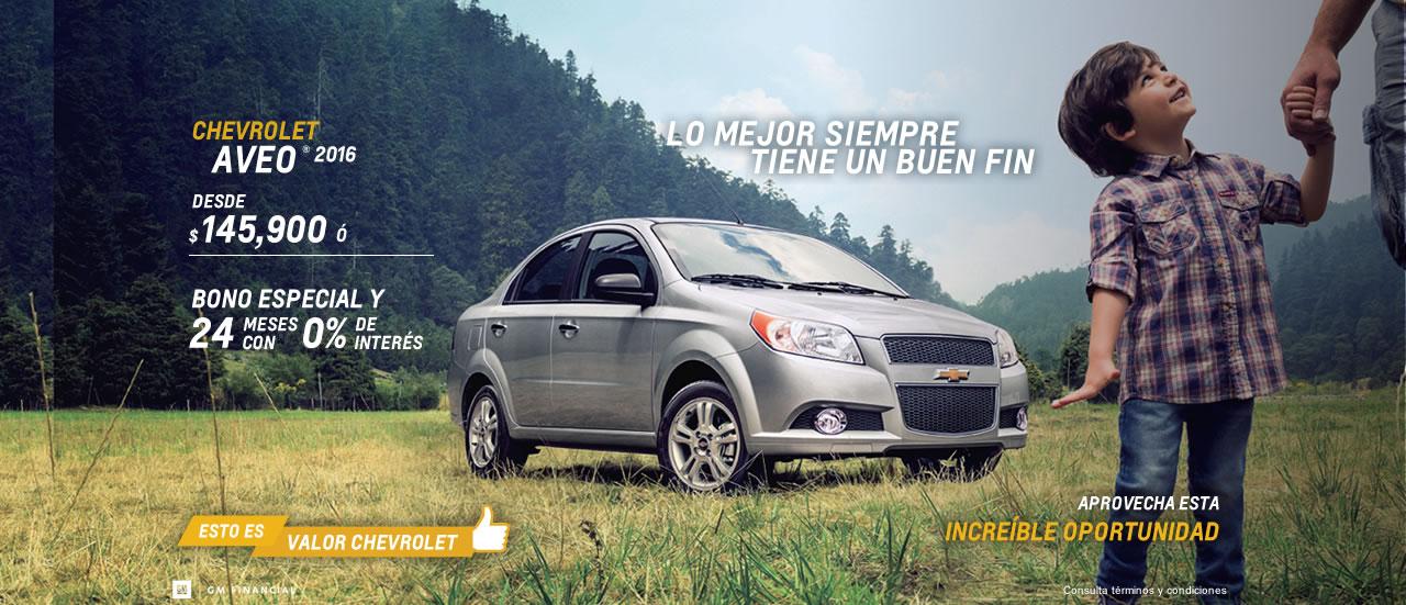 Meses si intereses en algunos autos Chevrolet