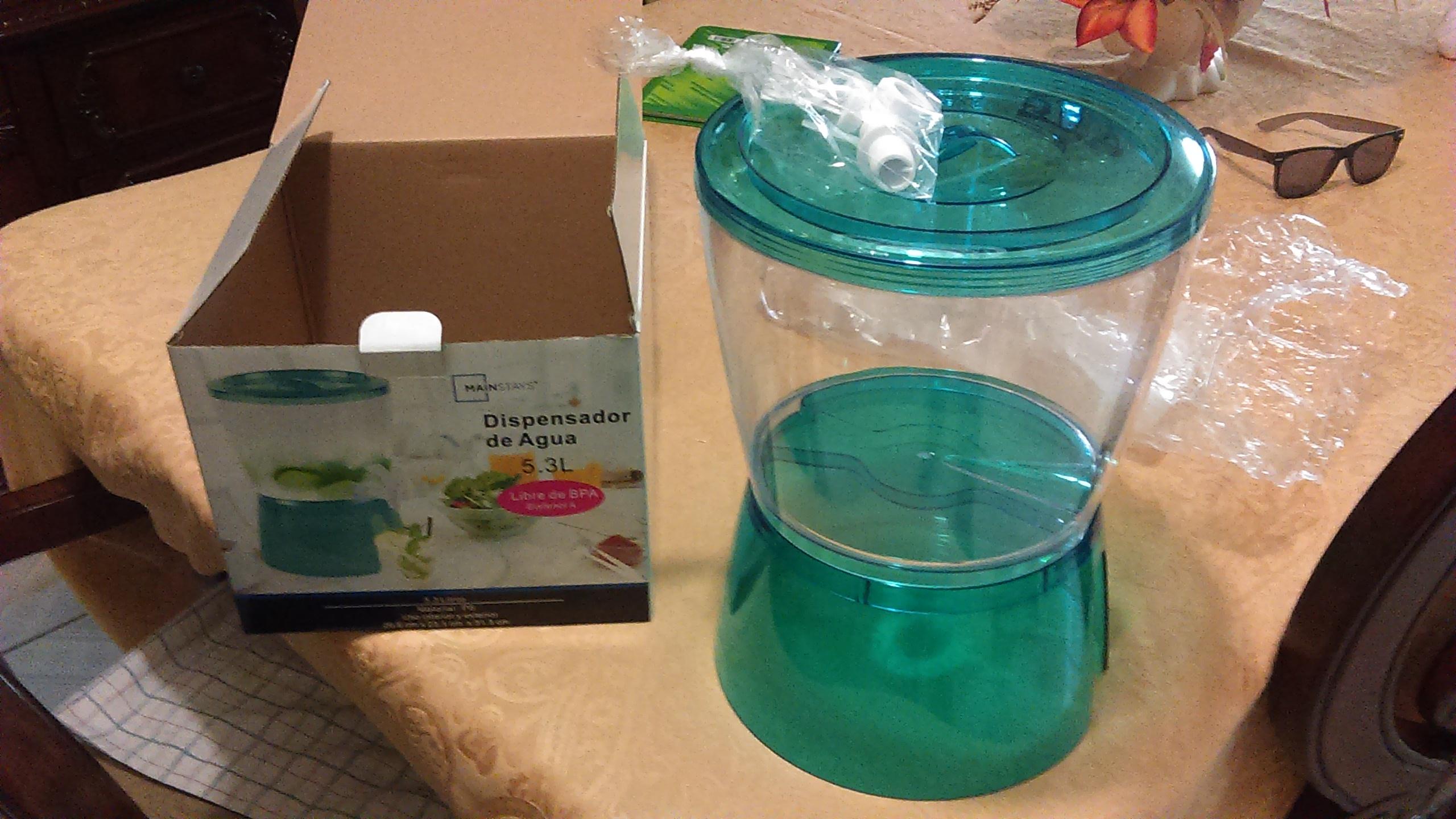 Bodega Aurrerá: Dispensador de Agua 5.3 L $95.02