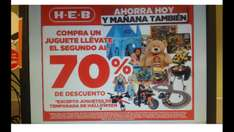 Heb 2do juguete 70% de desc 16-19 de oct