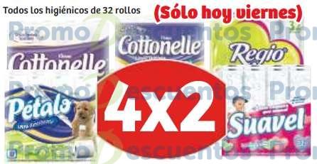Soriana: 4x2 en papel higiénico de 32 rollos
