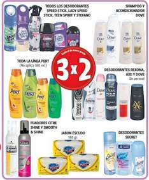 Farmacias Guadalajara: 3x2 en varios desodorantes, pañales, shampoos y más