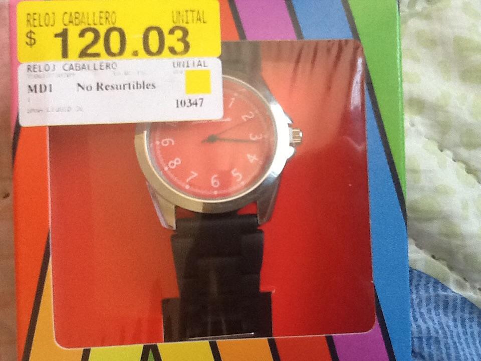 Walmart: reloj caballero James Michelle $20.01 y promonovela de los Bras. Promodescuentero vs promotores