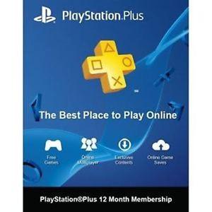 ebay: 1 año PlayStation Plus 40 dólares (envío gratis nuevas cuentas Estafeta Members)