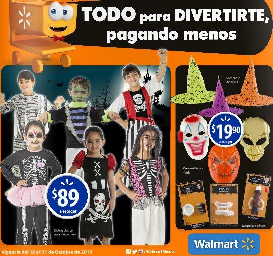 Folleto Walmart del 16 al 31 de octubre