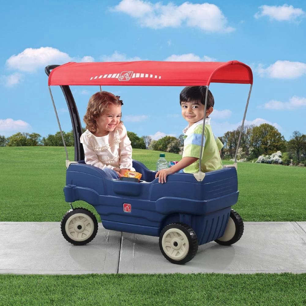 Walmart online: vagón step2 $995 y casitas de jardín en oferta