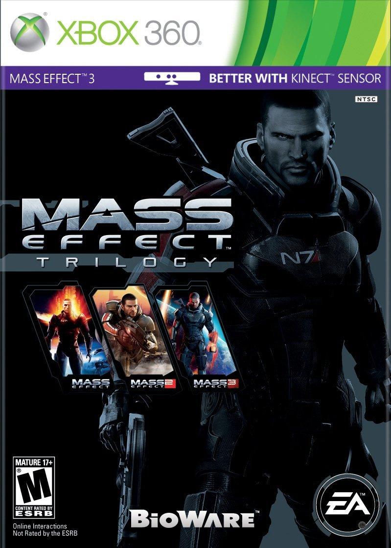 AMAZON: Mass Effect Trilogy Xbox 360
