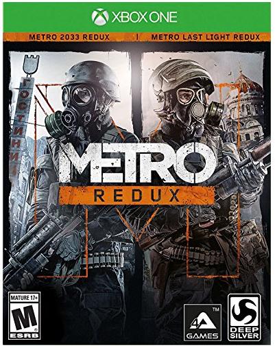 Amazon: Videojuego - Metro Redux - Xbox One en $250.66