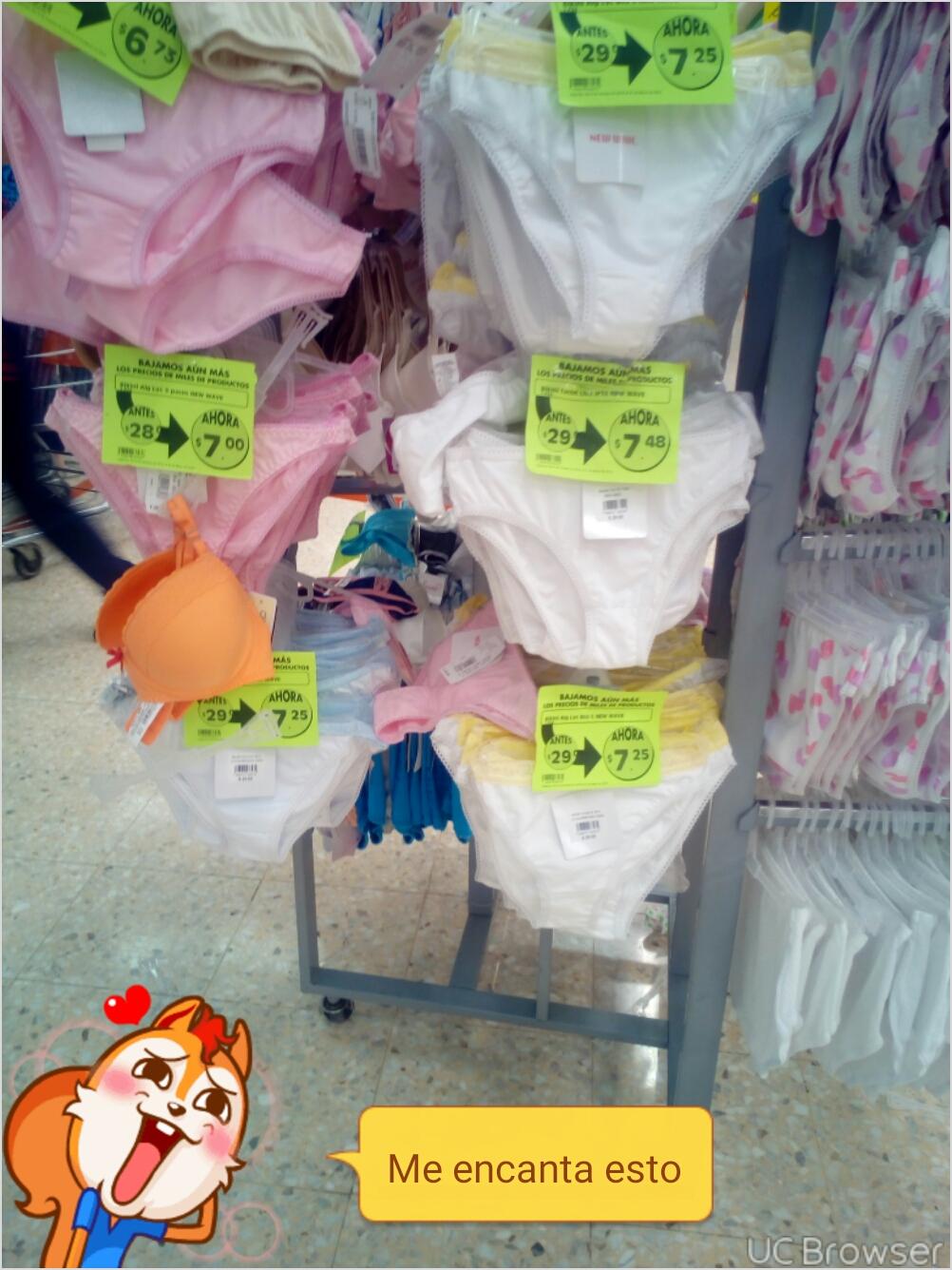 Mega comercial (La Comer): liquidación de ropa