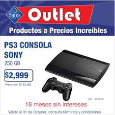 Sam's Club: PS3 250GB o Xbox 360 de 250GB con Skyrim y Forza 4 $2,999