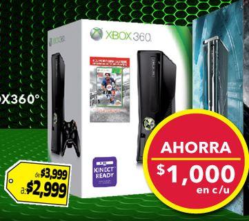 Best Buy: Xbox 360 + FIFA 13 $2,999, 25% menos en refrigeradores Mabe y +