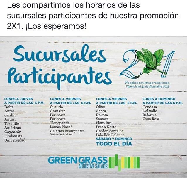 GREEN GRASS AL 2X1