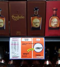 Chedraui Tequila Don Julio Añejo $350