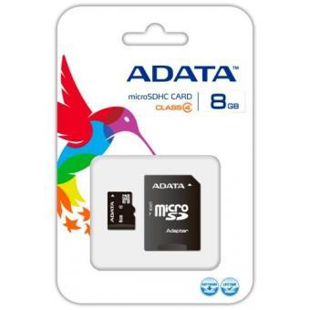 Linio: Micro SD Adata 8gb class 4 $49 y envío gartis Plus