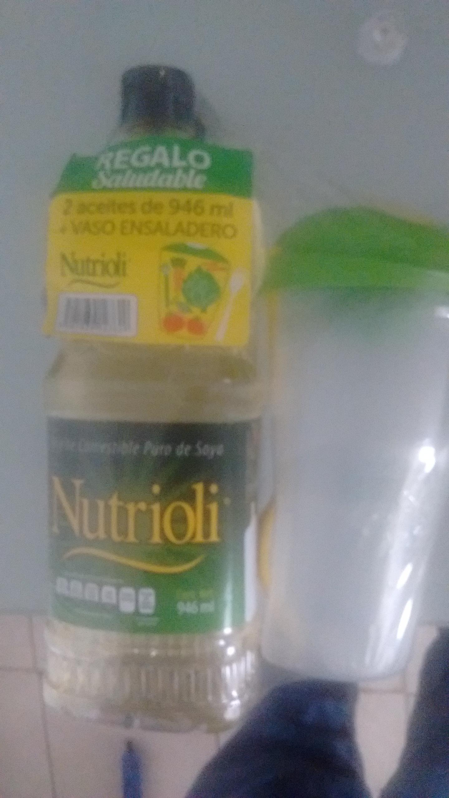 Walmart: Paquete de 2 aceites nutrioli de 946ml y llevate una ensaladera gratis