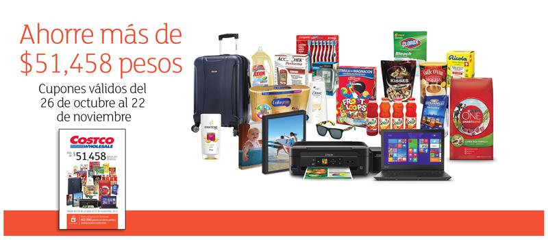 Costco: folleto de ofertas del 26 de octubre al 22 de noviembre