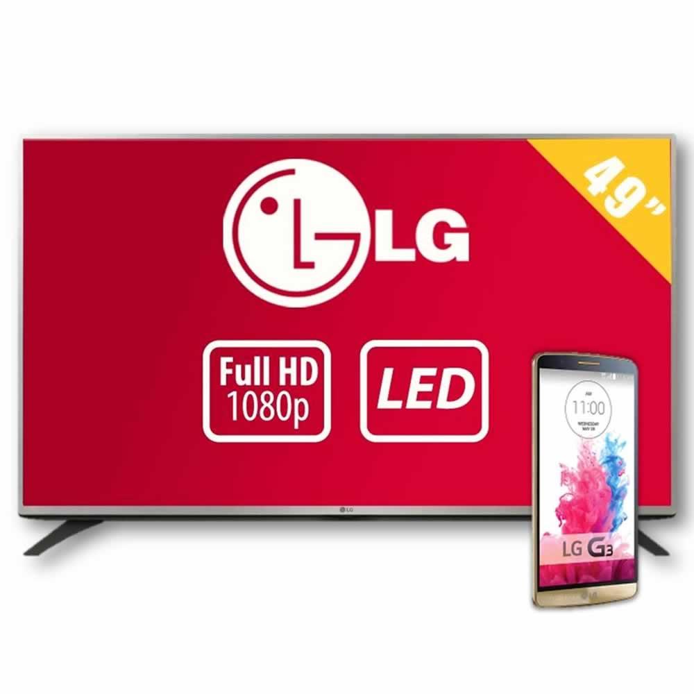 """Walmart: TV LG 49"""" Led + LG G3 x $9,999"""