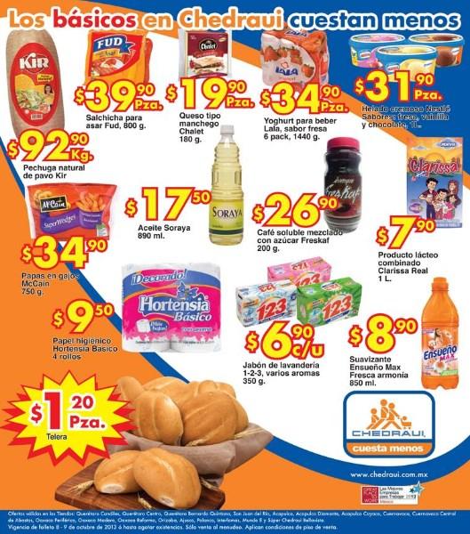 Frutas y verduras Chedraui octubre 8 y 9: manzana $9.90 el kilo y más
