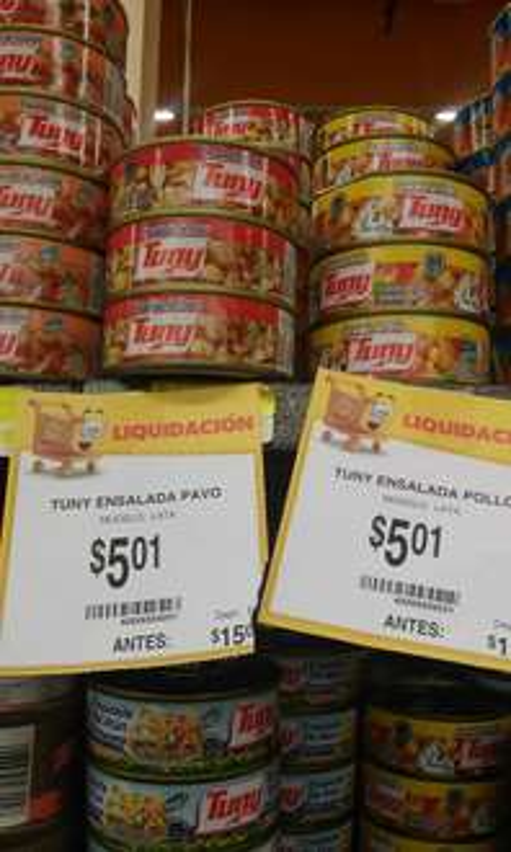 Walmart: ensalada de pavo Tuny a $5.01