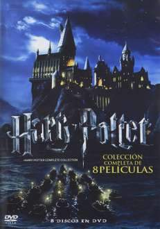 Linio; Coleccion Blu Ray 809 y Amazon DVDs de Harry Potter en $406.00